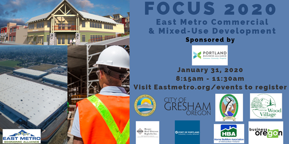 Attend FOCUS 2020 East Metro Commercial & Mixed-Use Development