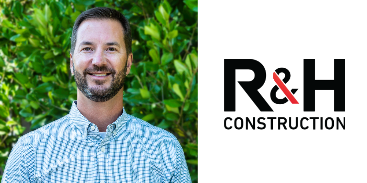 R&H Construction announces the addition of Ryan Brady, Chief Financial Officer