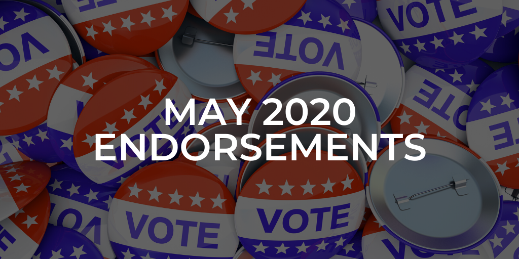 Endorsements for May 2020 Primary