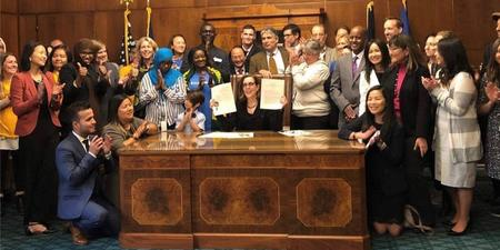 Governor Kate Brown signs Senate Bill 855 into law