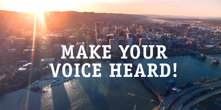 City of Portland budget hearings begin. Make your voice heard!