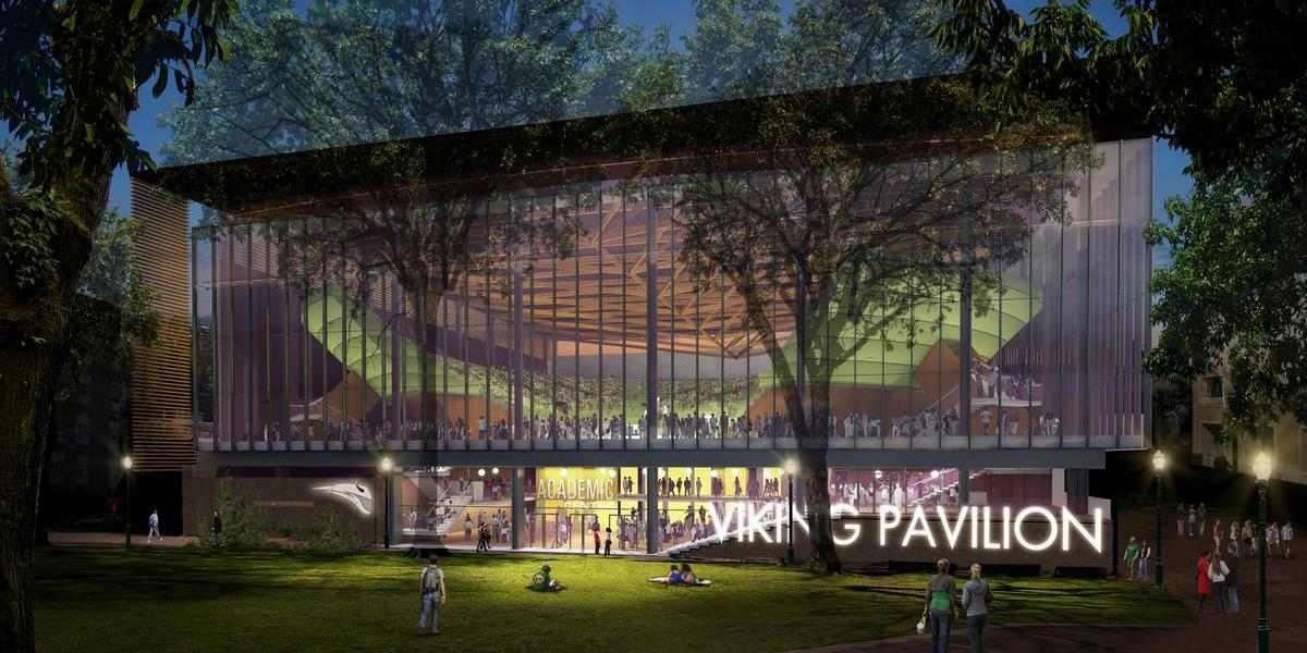 Portland State unveils its $52M Viking Pavilion (Photos)