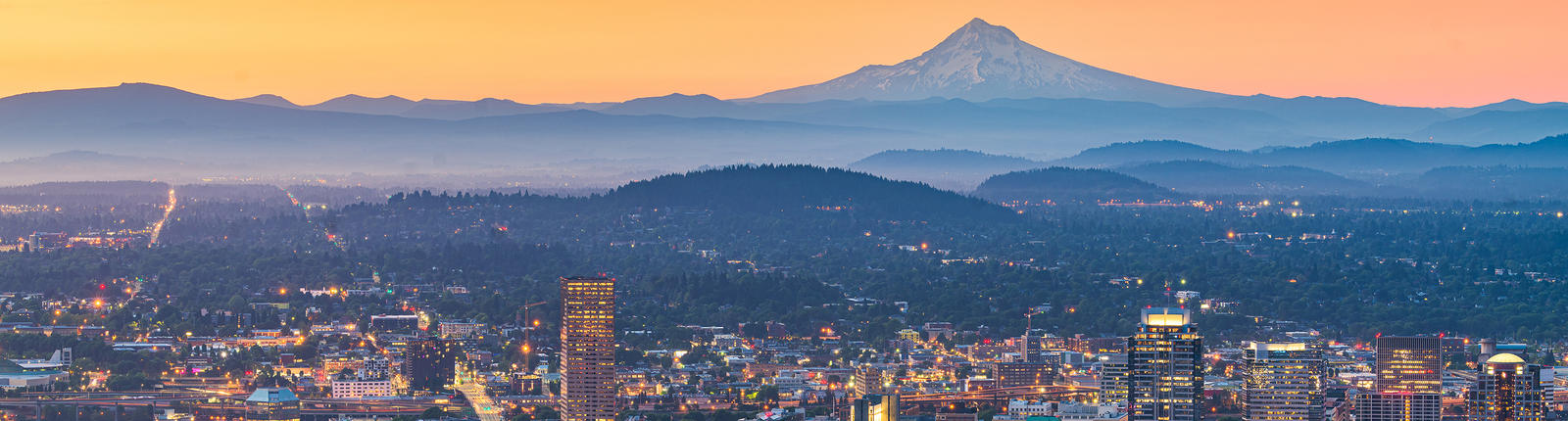 Inspirational photo of photo with Mt. Hood at unrise